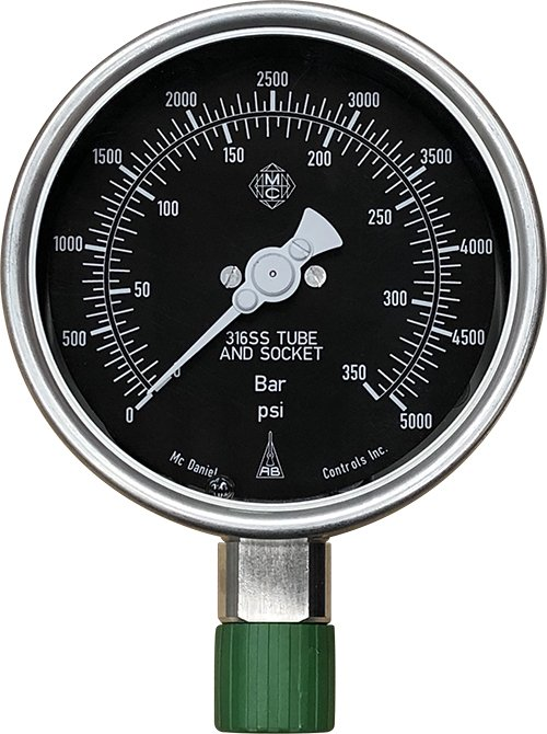Depth Compensated Gauges