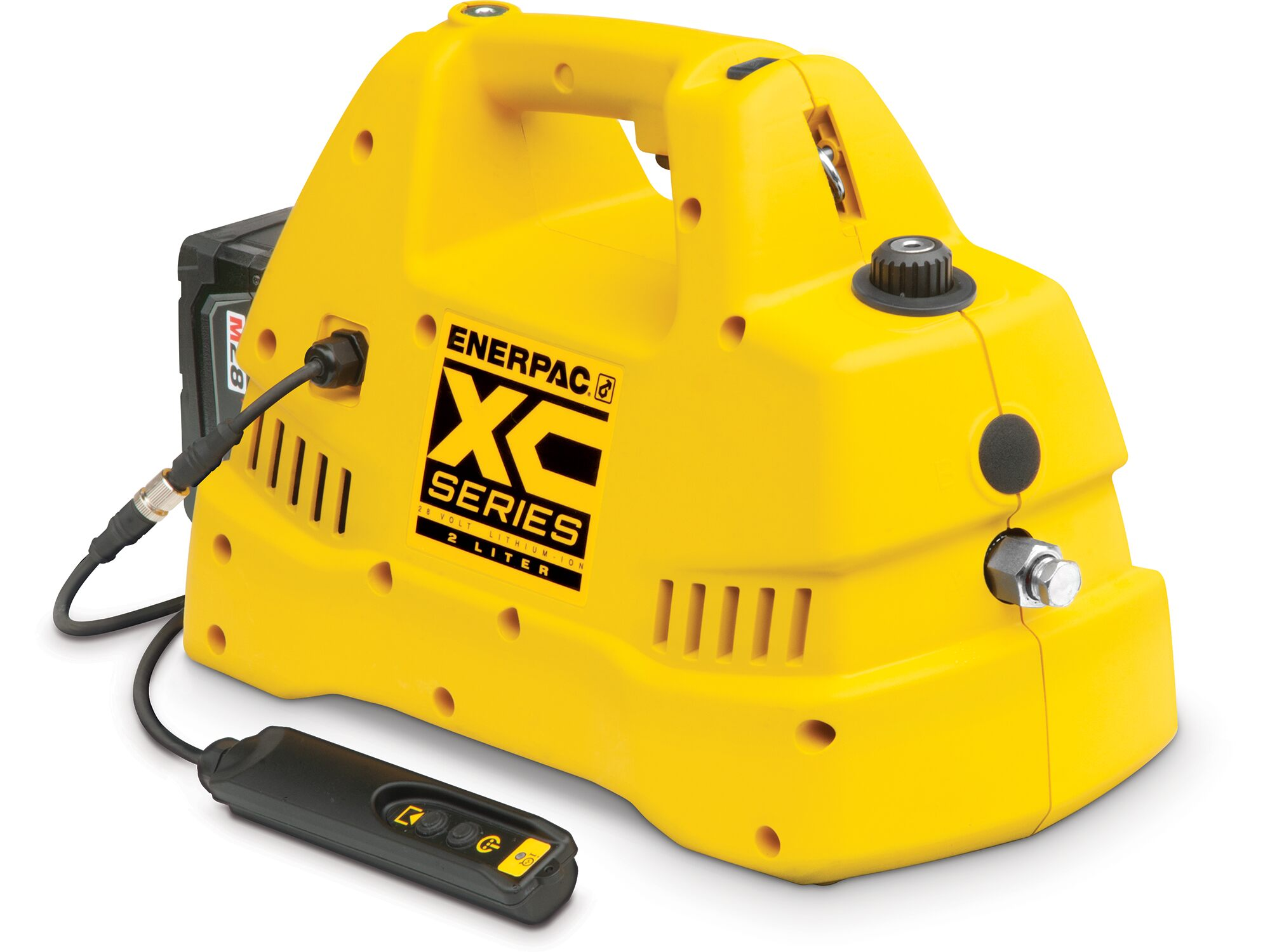 Enerpac launches new XC Cordless Pump!