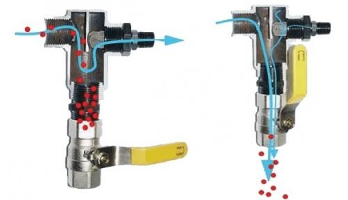 Air Inlet Particulate Diverter Valve