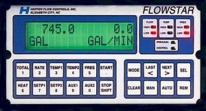 Flowstar 2007 Flow Computer Volumemetric/Mass Batch Totalizer/Rate Indicator for