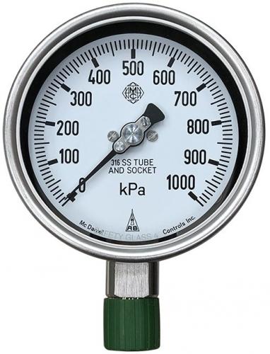 G(0-2500kPa)-DIN